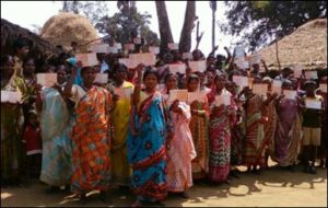 Chandiput village job card holders demanding work